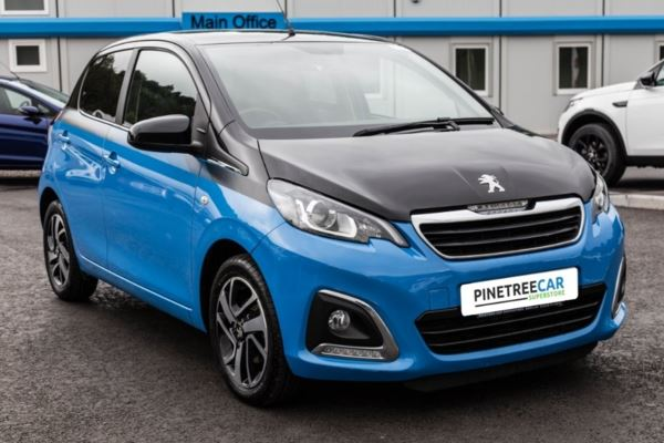 (2015) Peugeot 108 1.2 PureTech Allure 5dr REAR CAMERA - TOUCH SCREEN