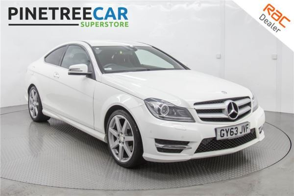 (2013) Mercedes-Benz C Class C180 [1.6] BlueEFFICIENCY AMG Sport 2dr