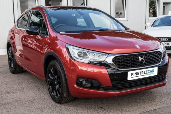 (2016) Ds Automobiles DS 4 CROSSBACK 1.6 BlueHDi (s/s) 5dr Only 20 Road Tax
