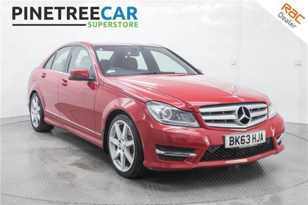 (2013) Mercedes-Benz C Class C220 CDI BlueEFFICIENCY AMG Sport Plus 4dr Auto