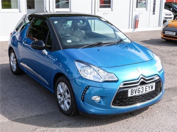 (2013) Citroen DS3 1.6 e-HDi Airdream DStyle 3dr