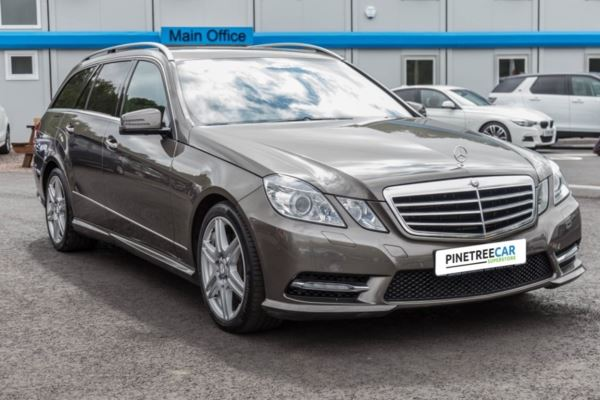 (2012) Mercedes-Benz E Class 3.0 E350 TD CDI BlueEFFICIENCY Sport 7G-Tronic Plus (s/s) 5dr Auto ALLOY WHEELS+PARKING SENSORS