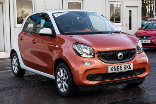 (2015) smart forfour hatchback 1.0 Passion 5dr