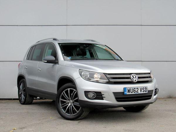 2012 (62) Volkswagen Tiguan 2.0 TDi BlueMotion Tech Sport DSG Auto- [2WD] SUV 5 Door 4x4