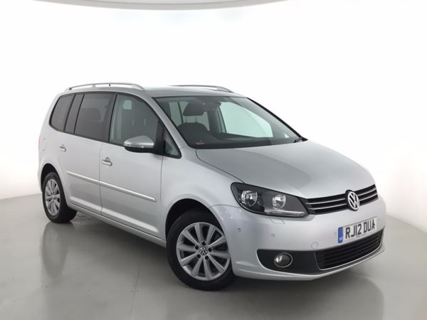 2012 (12) Volkswagen Touran 2.0 TDI BlueMotion Tech Sport - MPV 7 Seats 5 Door MPV