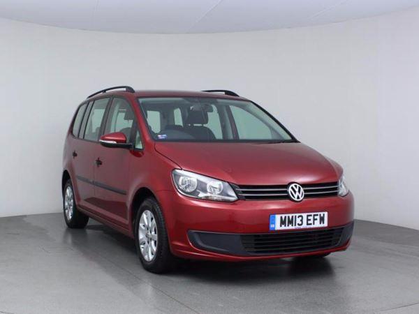 2013 (13) Volkswagen Touran 1.6 TDI 105 BlueMotion Tech S- MPV 7 Seats 5 Door MPV