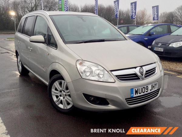 2009 (09) Vauxhall Zafira 1.9 CDTi Design [120] - MPV 7 SEATS 5 Door MPV