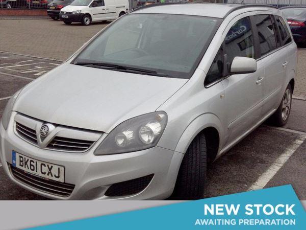 2011 (61) Vauxhall Zafira 1.7 CDTi ecoFLEX Exclusiv [125] 5dr - MPV 7 SEATS 5 Door MPV