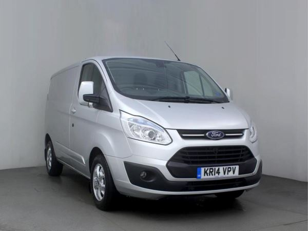 2014 (14) Ford Transit Custom 2.2 TDCi 125ps Low Roof 290 L1 FWD Limited Door Panel Van