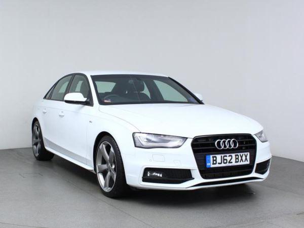 2013 (62) Audi A4 2.0 TDI 143 Black Edition - Leather - Bluetooth - £30 Tax - 1 Owner 4 Door Saloon