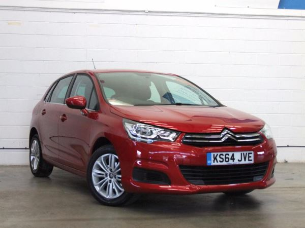 2015 (64) Citroen C4 1.6 BlueHDi Feel - Zero Tax - Aux Mp3 Input - Cruise - Low Miles - 2 Owners 5 Door Hatchback