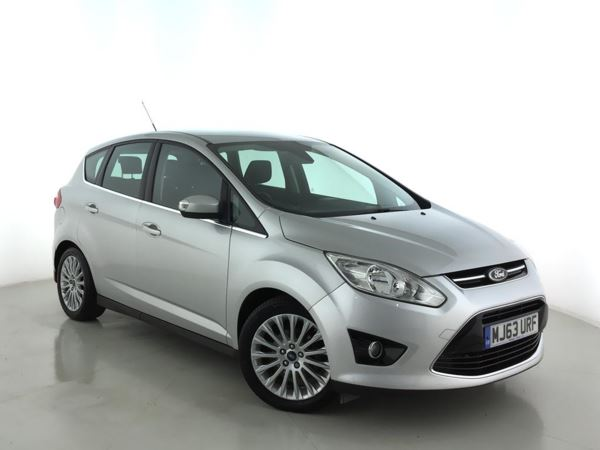 2013 (63) Ford C-MAX 1.6 TDCi Titanium 5dr - MPV 5 Seats 5 Door MPV