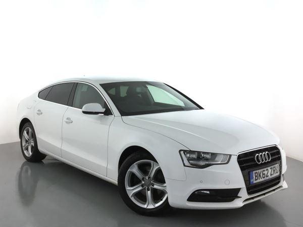 2012 (62) Audi A5 2.0 TDIe 136 SE Technik 5dr [5 Seat] 5 Door Hatchback