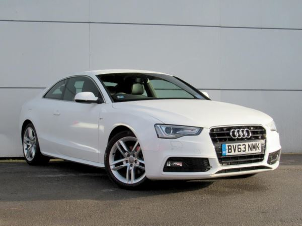 2013 (63) Audi A5 2.0 TDI 177 S Line 2dr 2 Door Coupe