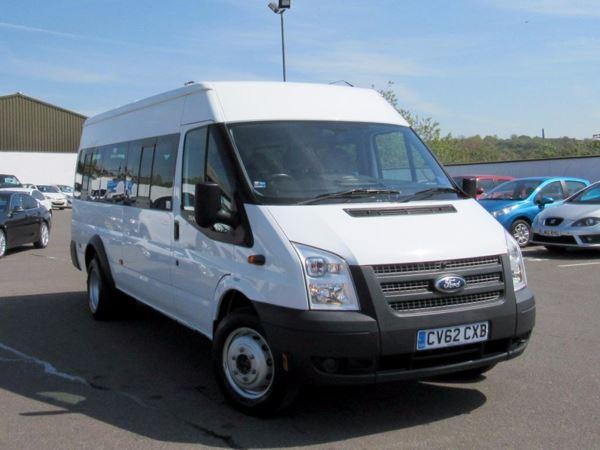2012 (62) Ford Transit 135 T430 RWD LWB 17 SEAT MINIBUS - Great Condition - £165 12m Tax Door Minibus