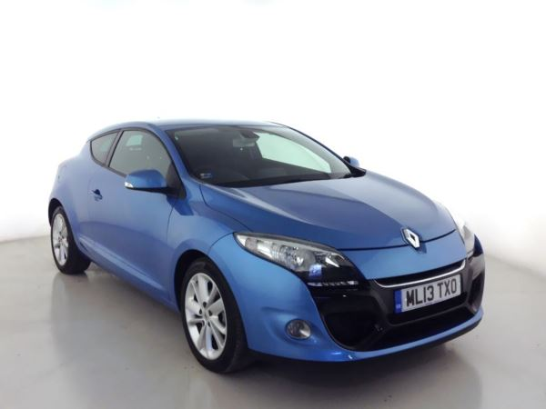 2013 (13) Renault Megane 1.5 dCi 110 Dynamique TomTom 3dr [Start Stop] 3 Door Coupe
