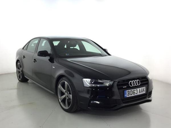 2013 (63) Audi A4 2.0 TDI 177 Quattro Black Edition 4dr 4 Door Saloon