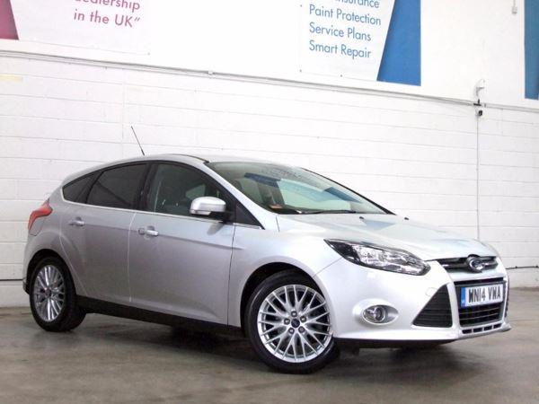 2014 (14) Ford Focus 1.6 TDCi 115 Zetec Navigator- £1275 Of Extras - Sat Nav - £20 Tax - 1 Owner 5 Door Hatchback