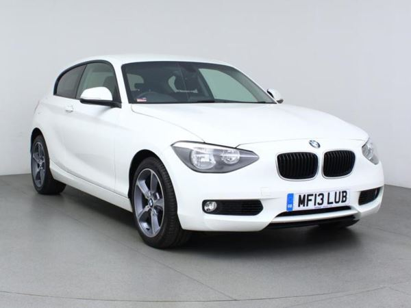 2013 (13) BMW 1 Series 120d SE Step Auto - Bluetooth - £5100 Of Extras - £30 Tax - 1 Owner 3 Door Hatchback