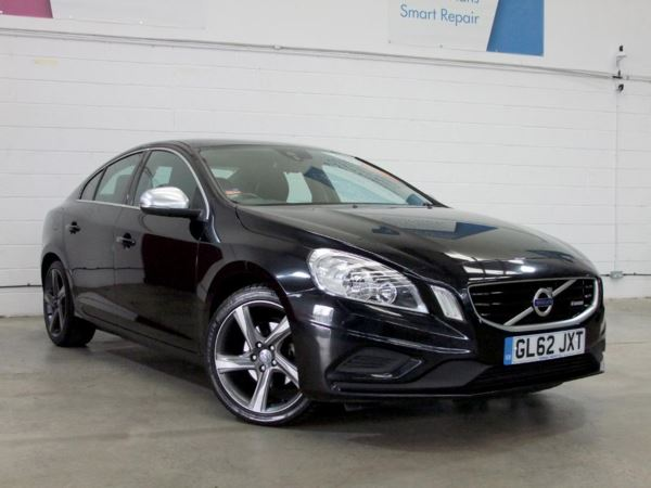 2013 (62) Volvo S60 D4 [163] R DESIGN - £2700 Of Extras - Sat Nav - Leather - Bluetooth 4 Door Saloon