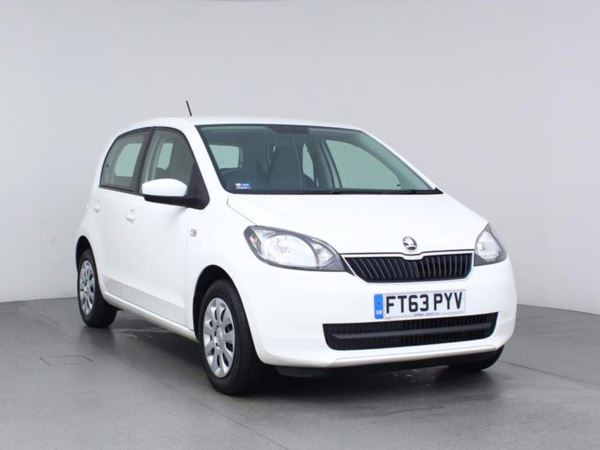 2014 (63) Skoda Citigo 1.0 MPI SE - £20 Tax - 1 Owner - Aux Mp3 Input - Low Miles - Low Insurance 5 Door Hatchback