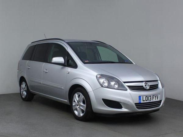2013 (13) Vauxhall Zafira 1.7 CDTi ecoFLEX Exclusiv [110] 5dr - MPV 7 Seats 5 Door MPV