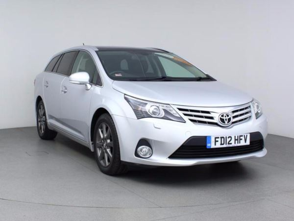 2012 (12) Toyota Avensis 2.0 D-4D T Spirit - Sat Nav - Leather - £30 Tax - Parksensor - 5 Door Estate