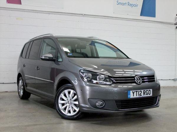 2012 (12) Volkswagen Touran 2.0 TDI BlueMotion Tech Sport 5dr 5 Door MPV