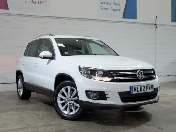 2012 (62) Volkswagen Tiguan 2.0 TDi BlueMotion Tech SE 5dr 5 Door Estate