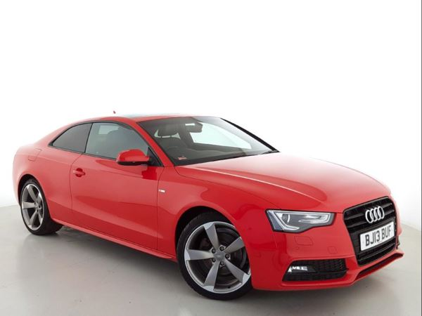 2013 (13) Audi A5 2.0 TDI 177 Black Edition - Sat Nav - £6360 Of Extras - Panroof - Leather 2 Door Coupe