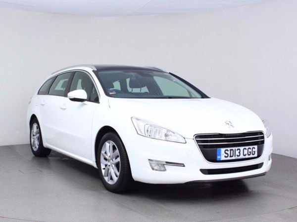 2013 (13) Peugeot 508 1.6 HDi 112 Active - Panoramic Roof - Bluetooth - £30 Tax - 1 Owner - 5 Door Estate