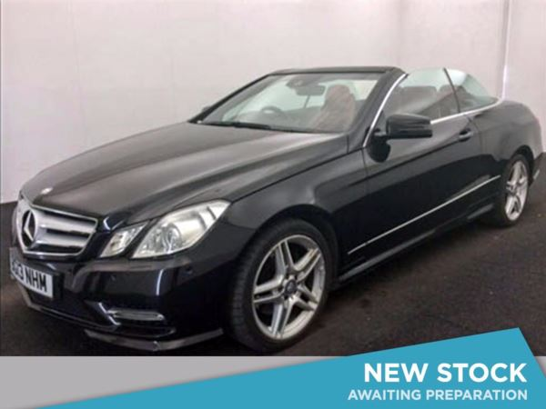 2013 (13) Mercedes-Benz E Class E250 CDI BlueEFFICIENCY Sport 2dr Tip Auto 2 Door Convertible