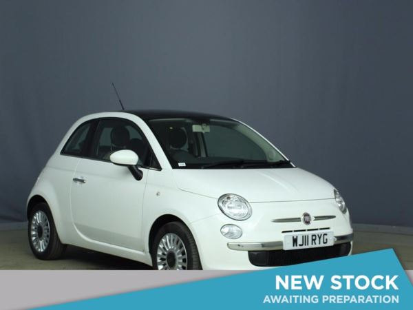 2011 (11) Fiat 500 1.2 Lounge 3dr [Start Stop] 3 Door Hatchback