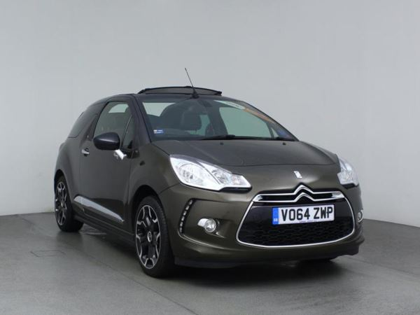 2014 (64) Citroen DS3 1.6 e-HDi Airdream DStyle Plus Cabriolet Convertible 2 Door Cabriolet