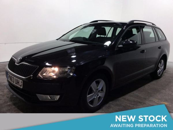 2013 (63) Skoda Octavia 2.0 TDI CR SE-£1480 Of Extras - Sat Nav - Bluetooth - £20 Tax - Parksensors 5 Door Estate