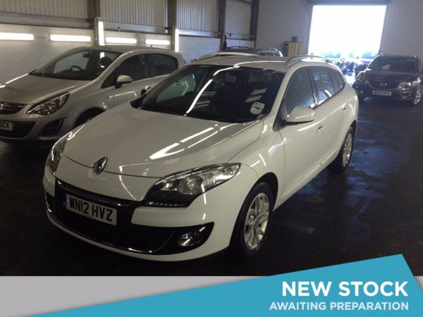 2012 (12) Renault Megane 1.5 dCi 110 Dynamique TomTom 5dr [Start Stop] 5 Door Estate