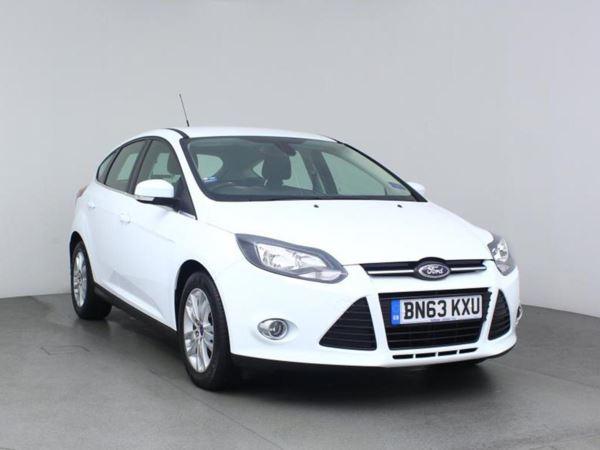 2013 (63) Ford Focus 1.6 TDCi 115 Titanium Navigator - Leather - £20 Tax - 1 Owner - Parksensors 5 Door Hatchback