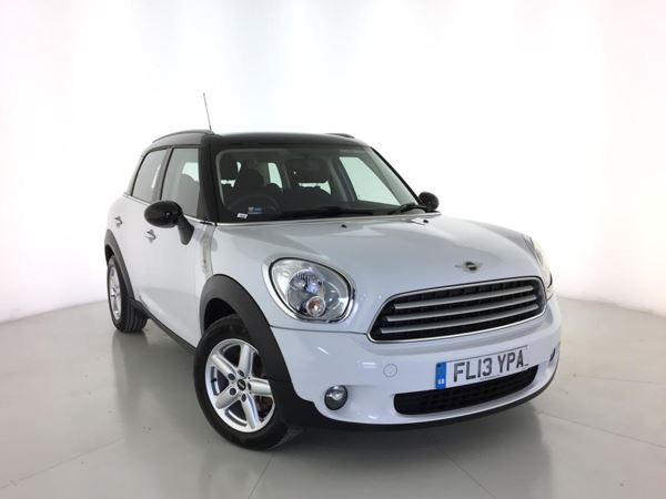 2013 (13) MINI Countryman 1.6 Cooper D [Chili Pack] - Bluetooth - £30 Tax - 1 Owner - Parksensors 5 Door Hatchback