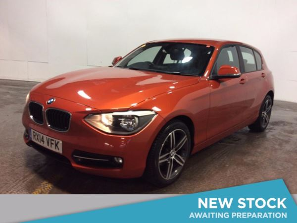 2014 (14) BMW 1 Series 118d Sport 5dr 5 Door Hatchback