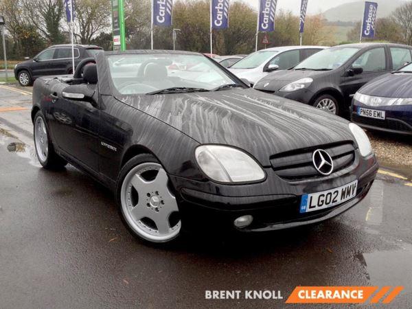 2002 (02) Mercedes-Benz SLK SLK 230K 2dr 2 Door Sports