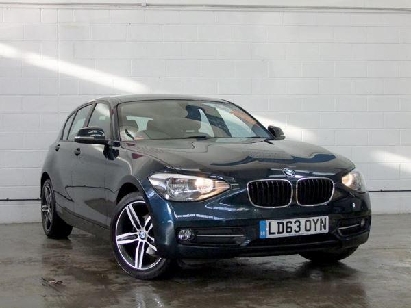 2013 (63) BMW 1 Series 116d Sport 5dr Step Auto 5 Door Hatchback
