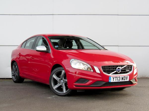 2013 (13) Volvo S60 D2 [115] R DESIGN - Sat Nav - £2110 Of Extras - Leather - Bluetooth 4 Door Saloon