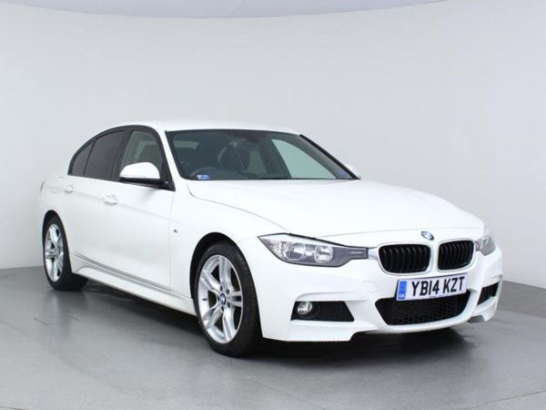 2014 (14) BMW 3 Series 320d M Sport Step 8 Speed Auto - Sat NAV - £3975 Extras - Leather - £30 Tax 4 Door Saloon