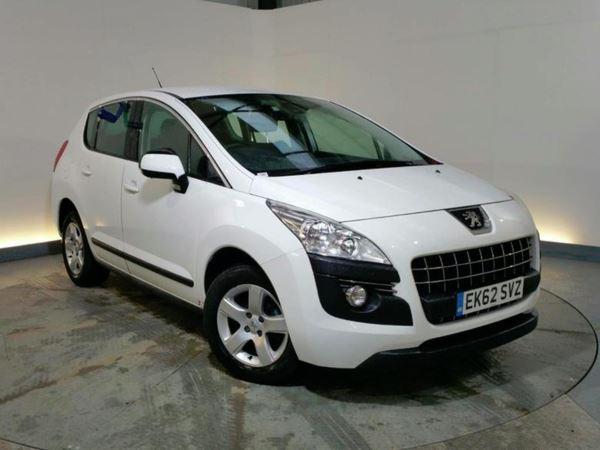 2012 (62) Peugeot 3008 1.6 HDi 112 SR 5dr - 5 Seat MPV 5 Door Hatchback