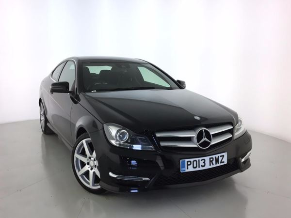 2013 (13) Mercedes-Benz C Class C220 CDI BlueEFFICIENCY AMG Sport 2dr [Comand] 2 Door Coupe