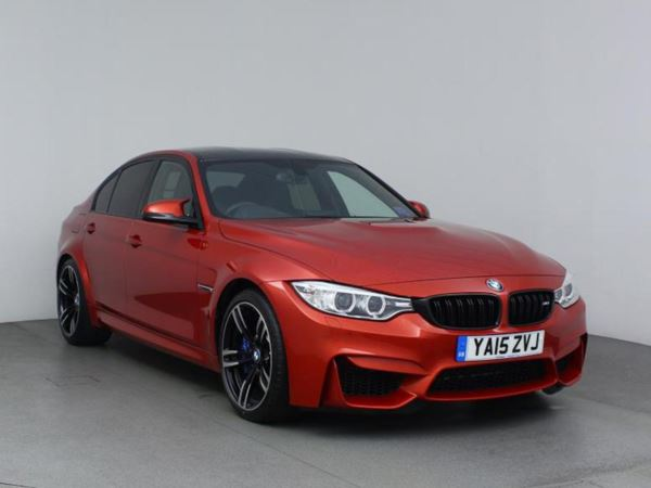 2015 (15) BMW M3 M3 4dr 7-Speed Auto M Double Clutch Transmission With Drivelogic 4 Door Saloon
