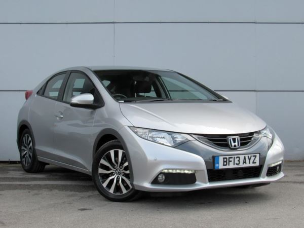 2013 (13) Honda Civic 1.6 i-DTEC EX - Sat Nav - Leather - Zero Tax - Parkassist - Cruise 5 Door Hatchback