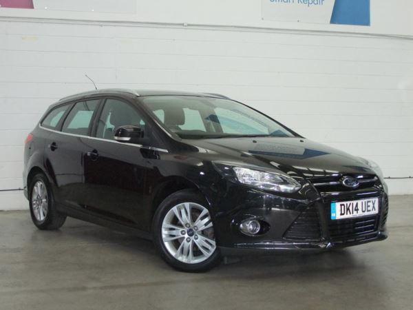 2014 (14) Ford Focus 1.6 TDCi 115 Titanium Navigator - Leather - £20 Tax - 1 Owner - Parksensors 5 Door Estate