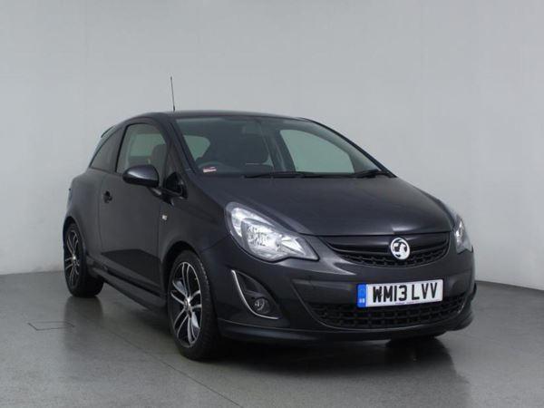 2013 (13) Vauxhall Corsa 1.4T Black Edition 3dr 3 Door Hatchback