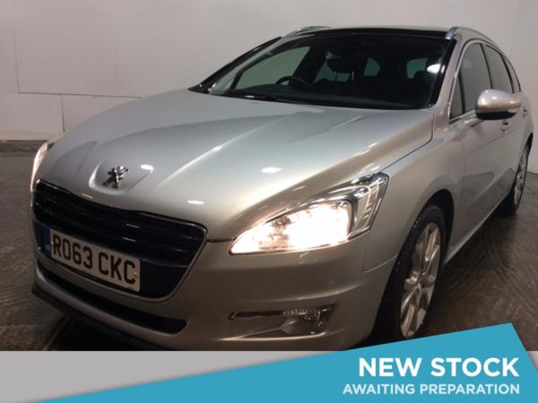 2013 (63) Peugeot 508 2.0 HDi 140 Active 5dr [Sat Nav] 5 Door Estate
